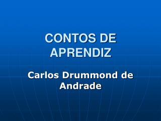 CONTOS DE APRENDIZ