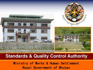 Standards  Quality Control Authority