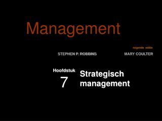 Strategisch management