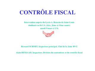 CONTR LE FISCAL