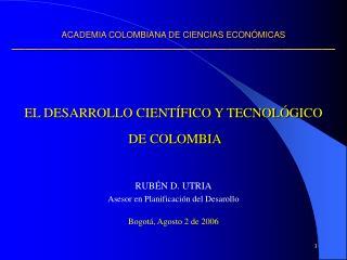 ACADEMIA COLOMBIANA DE CIENCIAS ECON MICAS