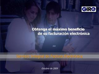 Servicio Integral de Factura Electr nica