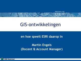 GIS-ontwikkelingen