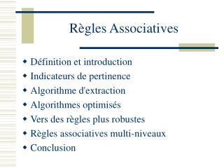 R gles Associatives