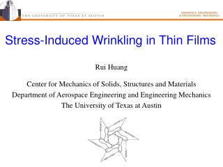 Stress-Induced Wrinkling in Thin Films