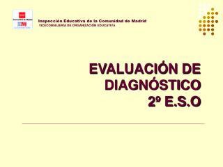 Inspecci n Educativa de la Comunidad de Madrid  VICECONSEJER A DE ORGANIZACI N EDUCATIVA