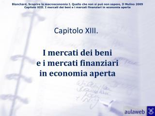 Capitolo XIII.