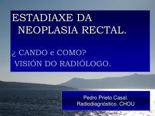 Pedro Prieto Casal.  Radiodiagn stico. CHOU