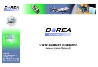 Carnet Sanitaire Informatis  francois.brunettidorea.fr