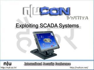 Exploiting SCADA Systems
