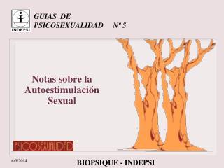 GUIAS  DE PSICOSEXUALIDAD     N  5