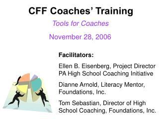 CFF Coaches  Training