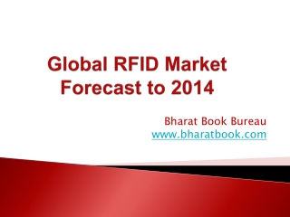 Global RFID Market Forecast to 2014