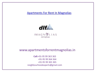 Apartments For Rent In Magnolias