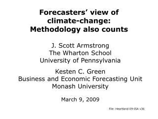 Forecasters