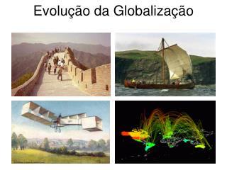Evolu  o da Globaliza  o