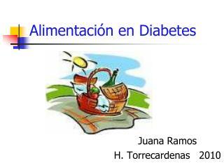 Alimentaci n en Diabetes