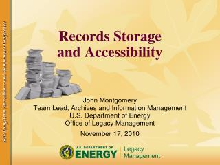 Records Storage and Accessibility