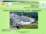 Rapport de stage Cheikh Yatma Diop, TSIBH 2008 UTC