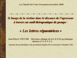 La Charit  Sur Loire Formation novembre 2008