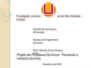 Funda  o Universidade Federal do Rio Grande - FURG