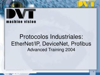 Protocolos Industriales:  EtherNet