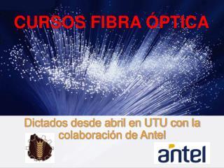 CURSOS FIBRA  PTICA