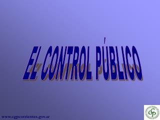 EL CONTROL P BLICO