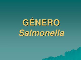 G NERO Salmonella
