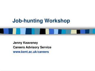 Job-hunting Workshop