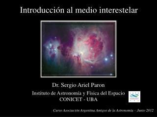 Dr. Sergio Ariel Paron