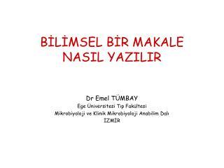 BILIMSEL BIR MAKALE NASIL YAZILIR