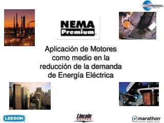 Aplicaci n de Motores como medio en la reducci n de la demanda de Energ a El ctrica