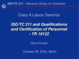 October 29, 2003, Berlin