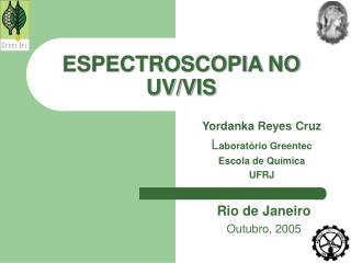 ESPECTROSCOPIA NO UV