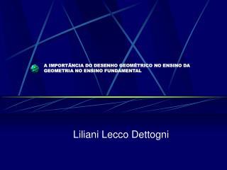 A IMPORT NCIA DO DESENHO GEOM TRICO NO ENSINO DA GEOMETRIA NO ENSINO FUNDAMENTAL