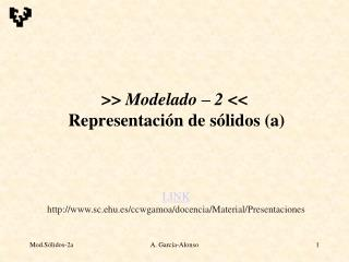 Modelado   2   Representaci n de s lidos a