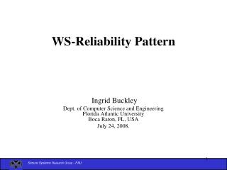 WS-Reliability Pattern