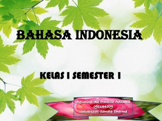 Media Pembelajaran Bahasa Indonesia