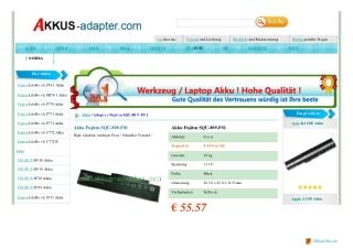 Fujitsu SQU-809-F01 Akku