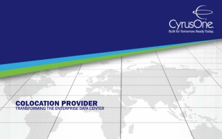 Colocation Provider: Transforming the Enterprise Data Center