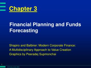 Financial Planning and Funds Forecasting