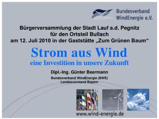 B rgerversammlung der Stadt Lauf a.d. Pegnitz f r den Ortsteil Bullach  am 12. Juli 2010 in der Gastst tte  Zum Gr nen B