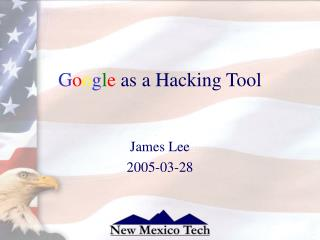 Google as a Hacking Tool