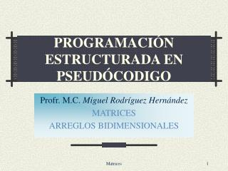 PROGRAMACI N ESTRUCTURADA EN PSEUD CODIGO