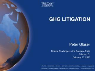 GHG LITIGATION
