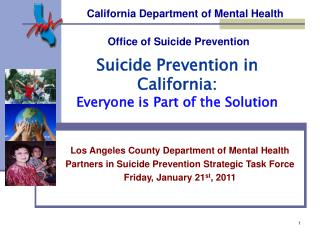 California Department of Mental Health