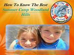 Summer Camp Woodland Hills