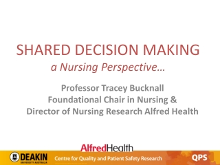 CLINICAL DECISION MAKING  THE NURSING PROCESS