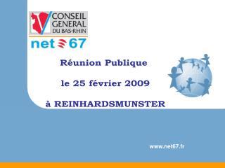 R union Publique   le 25 f vrier 2009    REINHARDSMUNSTER